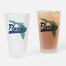 Florida Gods Waiting Room Drinking Glass