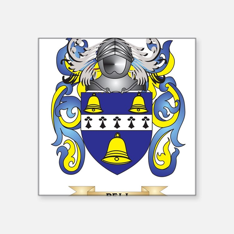 Bell Coat of Arms Sticker