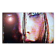 Diamond Eyes Rectangle Decal