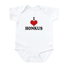 I Love Honkus Infant Bodysuit