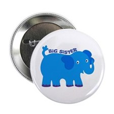 "Big Sister Elephant 2.25"" Button"