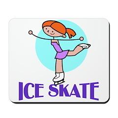 Ice Skate Mousepad