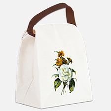 Redoute Bouquet Canvas Lunch Bag