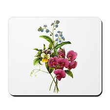 Redoute Bouquet Mousepad