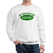 Proud Memaw (green) Sweatshirt
