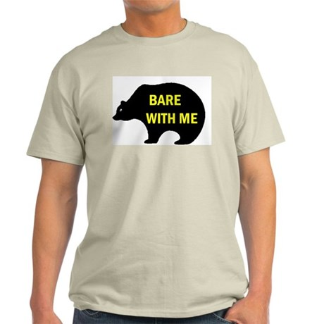 BARE WITH ME Ash Grey T-Shirt