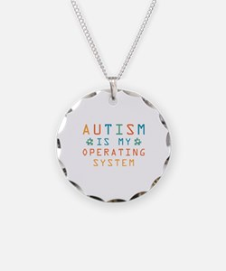 Autism Operating System Necklace