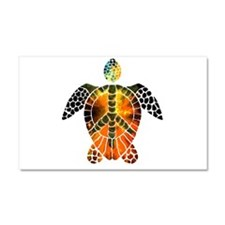 sea turtle-3 Car Magnet 20 x 12