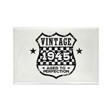 Vintage 1945 Rectangle Magnet