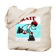 Skater Boy Tote Bag
