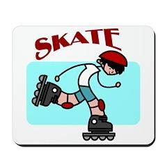 Skater Boy Mousepad