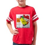 save the PLANET Youth Football Shirt