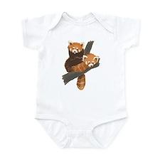 Red Pandas Infant Bodysuit