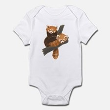 Red Pandas Infant Bodysuit