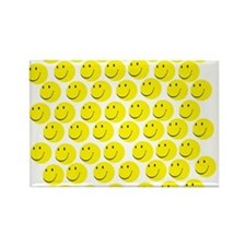Smiles Rectangle Magnet