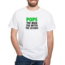 Pops - The Legend - Black T-Shirt
