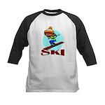 Ski Kids Baseball Jersey