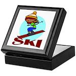 Ski Keepsake Box