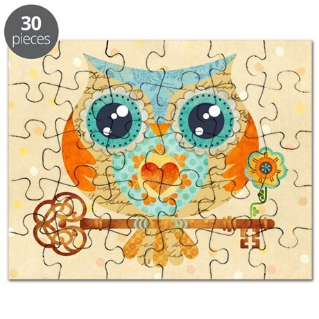 Owl's Summer Love Letters Puzzle