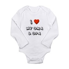 I Love My Oma & Opa Body Suit