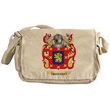 Benedict Coat of Arms Messenger Bag