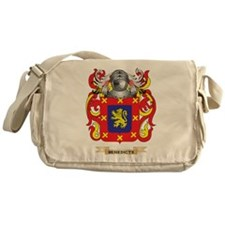 Benedicte Coat of Arms Messenger Bag