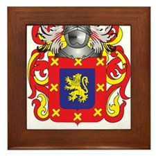 Benedicte Coat of Arms Framed Tile