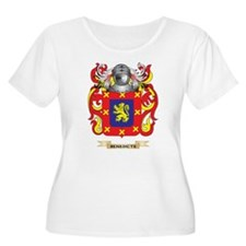 Benedicte Coat of Arms Plus Size T-Shirt