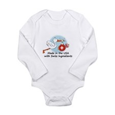 Stork Baby Switzerland USA Body Suit