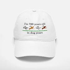 100 dog years birthday 2 Baseball Baseball Baseball Cap