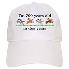 100 dog years birthday 2 Baseball Baseball Cap