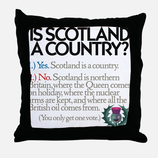 Yes Or No Throw Pillow