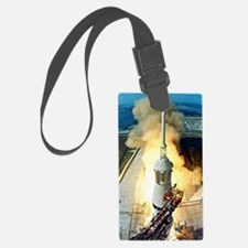 Appolo 11 Launch First moon land Luggage Tag