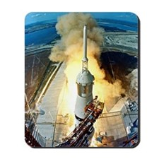 Appolo 11 Launch First moon landing Mousepad