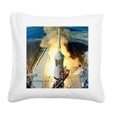 Appolo 11 Launch First moon l Square Canvas Pillow