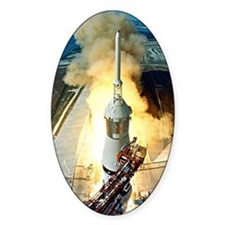 Appolo 11 Launch First moon landing Decal