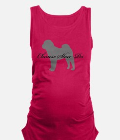 7-greysilhouette.png Maternity Tank Top