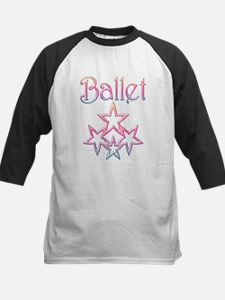 Ballet Stars Kids Baseball Jersey