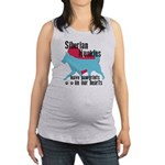pawprints.png Maternity Tank Top