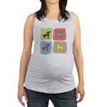 colorblock3.png Maternity Tank Top
