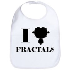 I Love Fractals Mathematics Bib