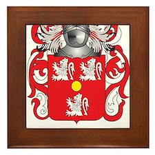 Bennett-English Coat of Arms Framed Tile
