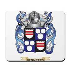 Bennetts Coat of Arms Mousepad