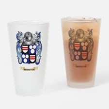 Bennetts Coat of Arms Drinking Glass