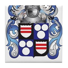 Bennetts Coat of Arms Tile Coaster