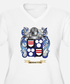 Bennetts Coat of Arms Plus Size T-Shirt