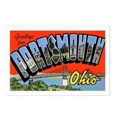 Portsmouth Ohio Greetings Postcards (Package of 8)