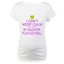 My Daughter plays softball Shirt