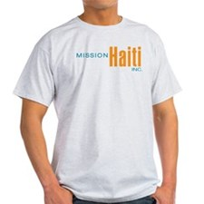 Mission Haiti Inc Ash Grey T-Shirt