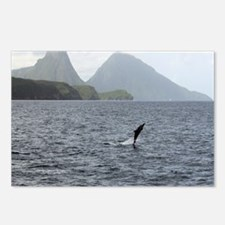 Gros and Petit Mountains  Postcards (Package of 8)